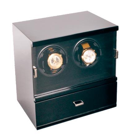 Aubolex 5255 Шкатулка для подзавода 2-х механических часов от компании Aubolex.