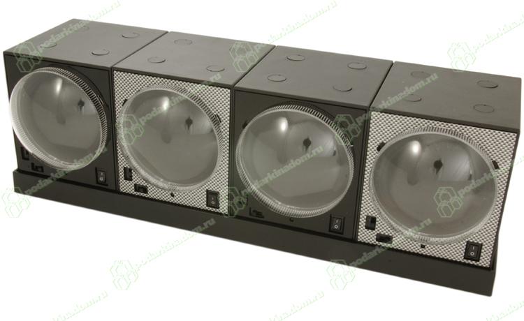 4b8 Комплект из четырех шкатулок для наручных часов с автоподзаводом и установочной станции