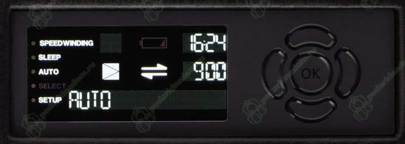 Vantage 2 carbon Шкатулка для 2 часов, с автоподзаводом, с цифровым управлением
