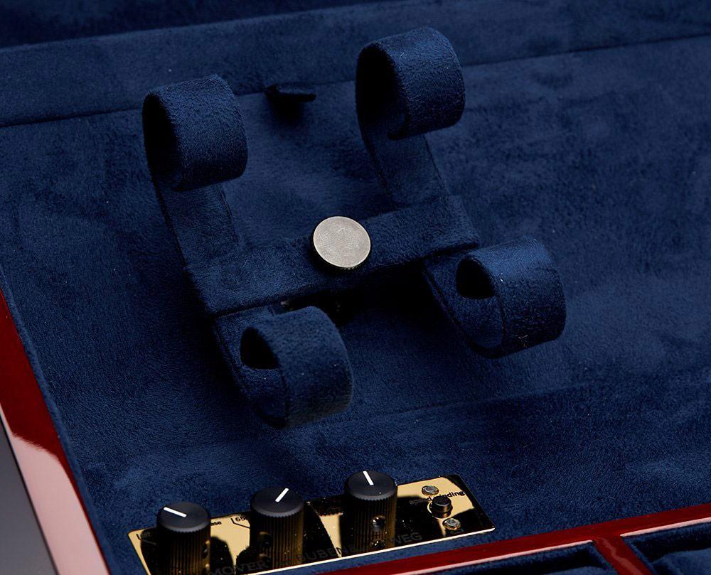 Executive Шкатулка для хранения 4-х часов с автоматическим заводом и 6-ти с ручным заводом, или кварцевых.