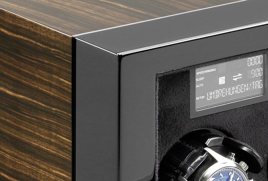 Vantage 2 Macassar Шкатулка для часов с автоматическим заводом и цифровым управлением