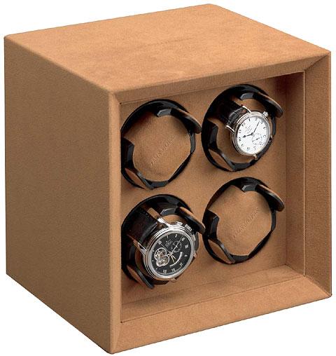 Buben & Zorweg Safe Master 4 Шкатулка для 4-х часов с автоподзаводом, для хранения в сейфе.