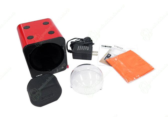 Fancy Brick (Red) Бокс для часов с автоподзаводом. Стильное продолжение предыдущей коллекции шкатулок Boxy. 45 режимов завода часов. Световой сенсор ориентации положения часов…