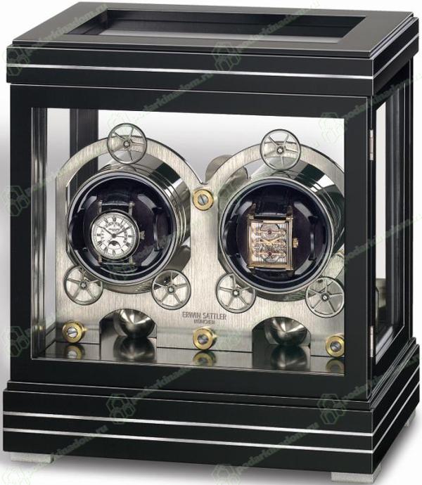 Erwin Sattler ROTALIS II BLACK Шкатулка Rotalis II Black – это настоящее произведение искусства, способное поразить своей изысканностью и функциональностью любого обладателя часов Erwin Sattler