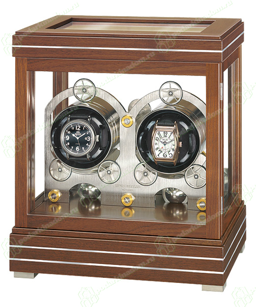 Erwin Sattler ROTALIS II WALNUT Шкатулка Rotalis II Walnut от Erwin Sattler – это роскошь для самых изысканных ценителей коллекционных наручных часов