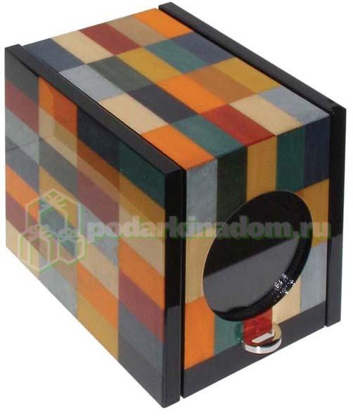 KadLoo Cube one Harlekin Шкатулка для подзавода 1-х часов