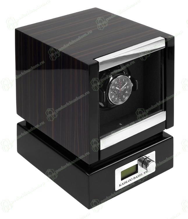 KadLoo Panamerica I macassar Модуль для подзавода одних механических часов. Современный дизайн и отделка макассар, в совокупности с немецким качеством и надежностью, делают ее одной из самых популярных шкатулок для подзавода часов