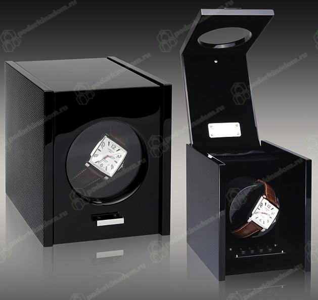 KadLoo Cube 1 carbon Шкатулка для подзавода 1-х часов
