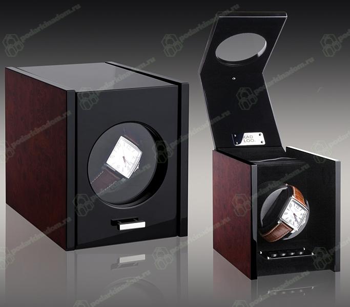 KadLoo Cube one wood Шкатулка для подзавода 1-х часов