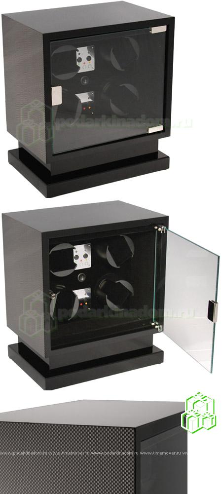 KadLoo Cube four carbon Бокс для подзавода 4-х часов