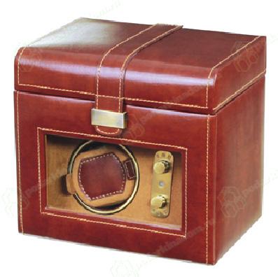 LC Designs 70883 Шкатулка из кожи для хранения трех и подзавода одних наручных часов