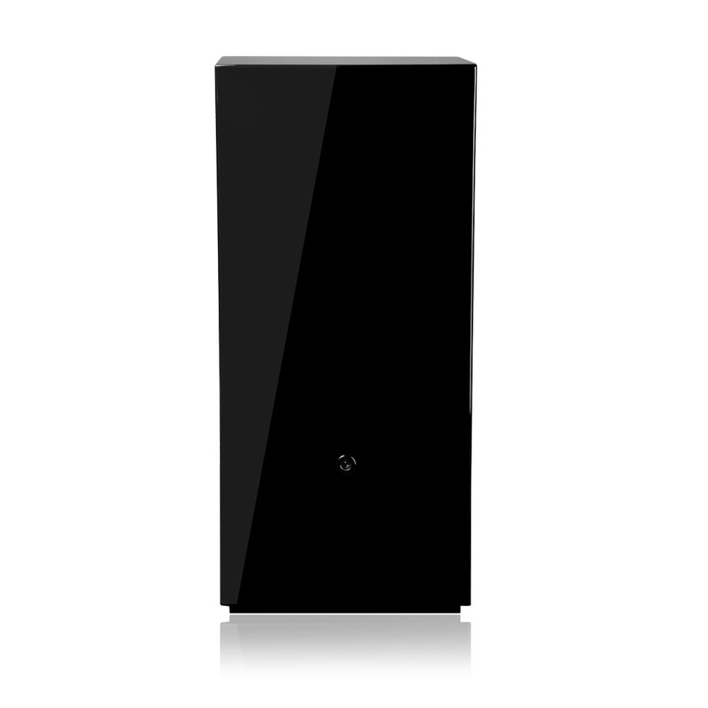 ROYAL Black Вертикальная шкатулка для автоподзавода 8-ми механических часов, с электронным управлением, выполнена из дерева.