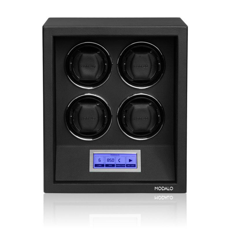 SAFE SYSTEMS 4 Элегантная шкатулка для автоподзавода 4-х наручных часов.