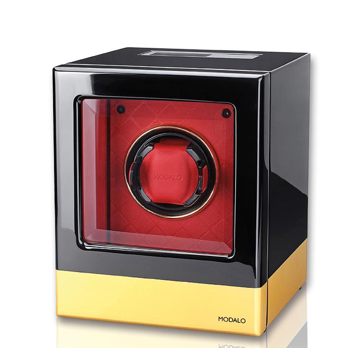 Modalo ATLANTIS Red Rose Шкатулка для одних механических часов, в виде куба.