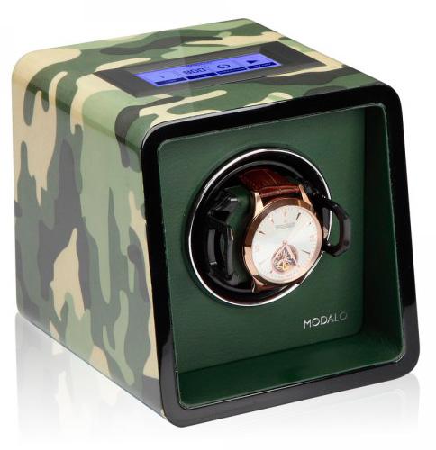 Modalo Saturn 17.01.01.3 Шкатулка для автоподзавода 1-х наручных часов. Сенсорный ЖК дисплей. Производство Modalo.
