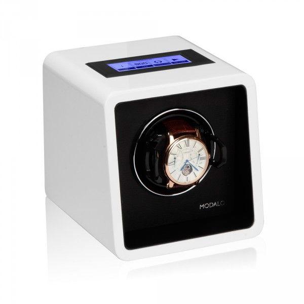 Modalo SATURN White Шкатулка с автоподзаводом для 1х часов, работает от сети