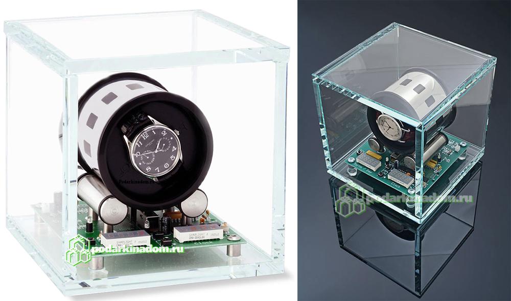 Orbita TOURBILLON Шкатулка с инновационной технологией завода автоматических часов и футуристическим внешним видом