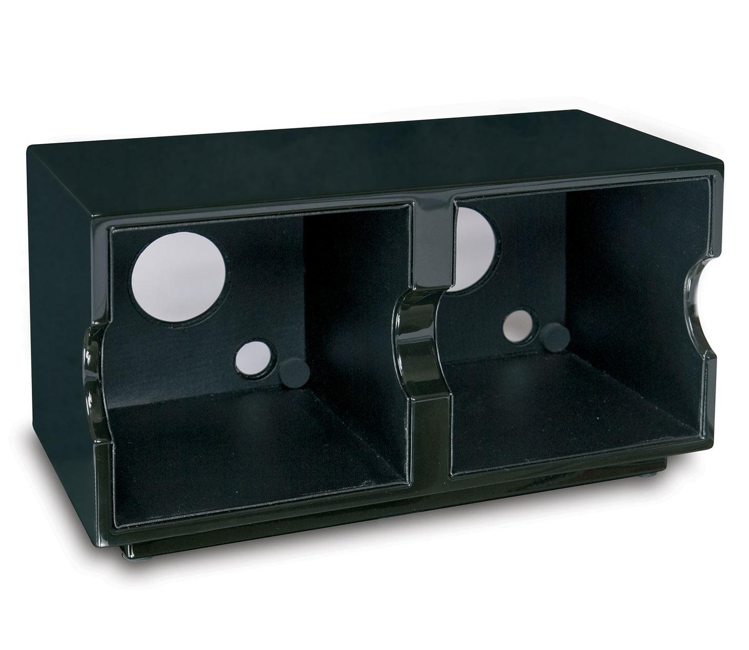FRO2 Двухместная база EVO Double BOX от Rapport. В базе возможно разместить до 2 модулей EVO любого цвета, что позволяет модулям работать от одного адаптера. Выполнена из дерева, покрыта черным глянцевым лаком