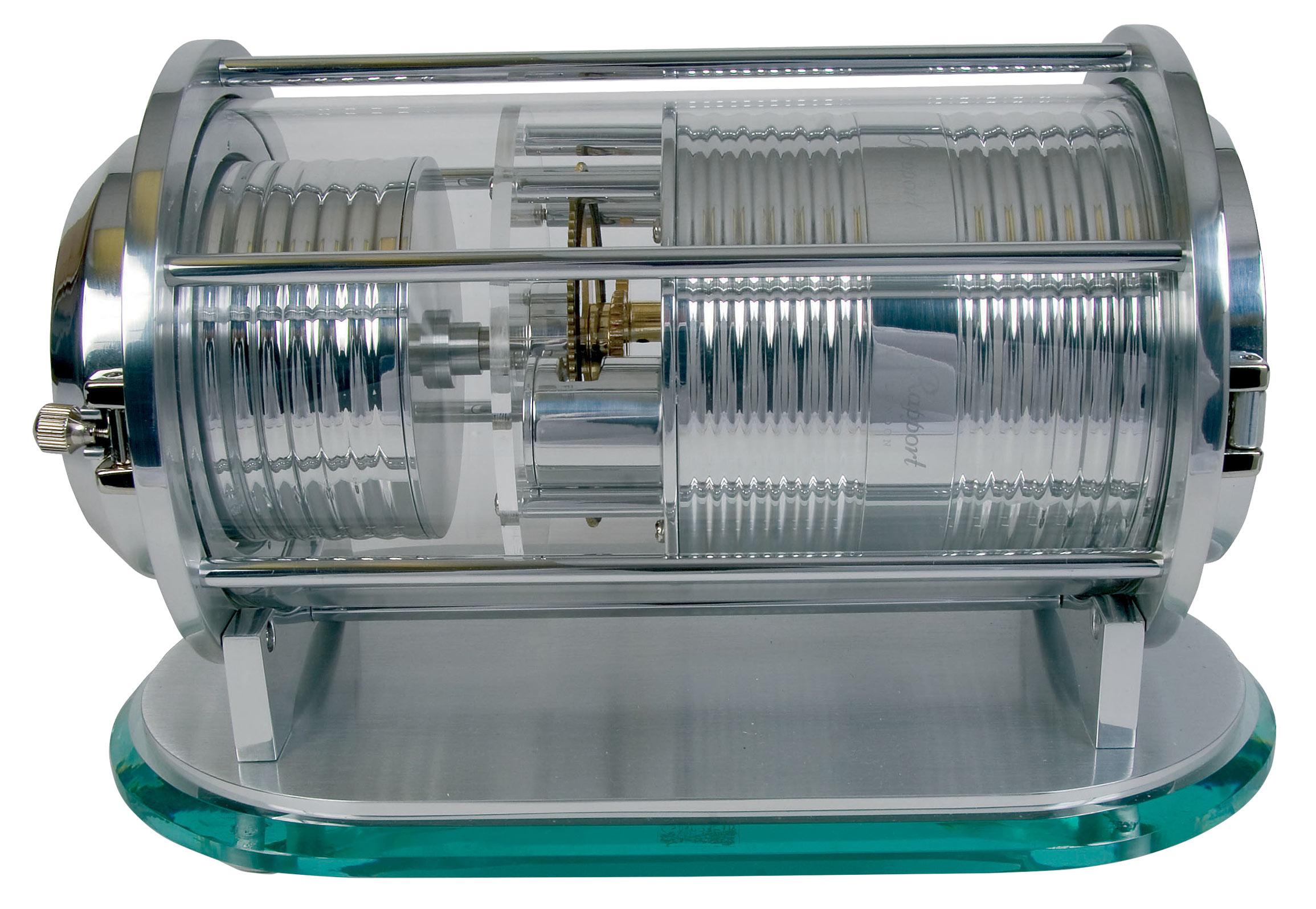 """W193 Невероятная и футуристичная часовая шкатулка для одних часов цилиндрической формы """"Time Capsule"""""""