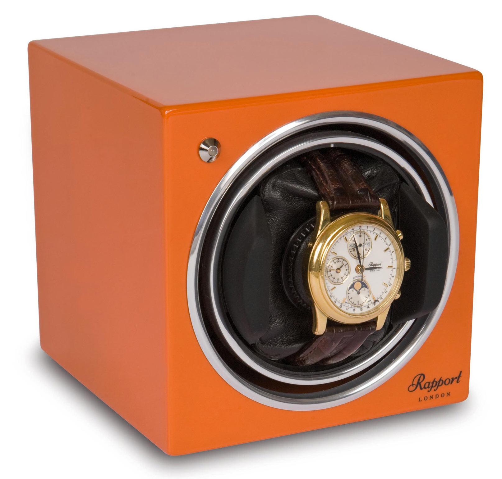 EVO10 Модуль для подзавода одних наручных часов, оранжевого цвета