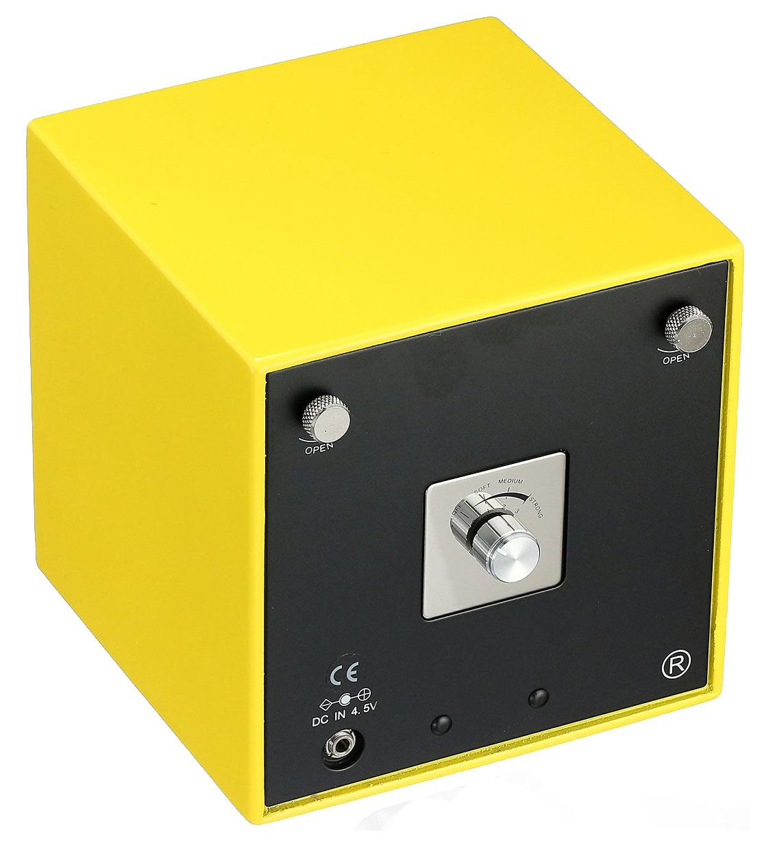 EVO11 Модуль для подзавода 1 часов, выполнен в удобной кубовидной форме. Желтого цвета.