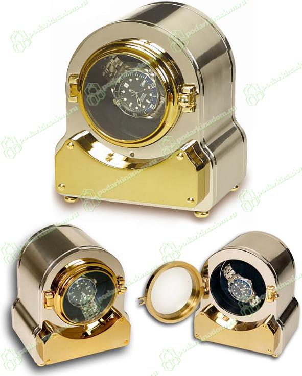 Rapport W195 Модуль Napoleon Watch Winders для подзавода 1 механических часов. Обладает 2 режимами вращения. Корпус полностью выполнен из латуни