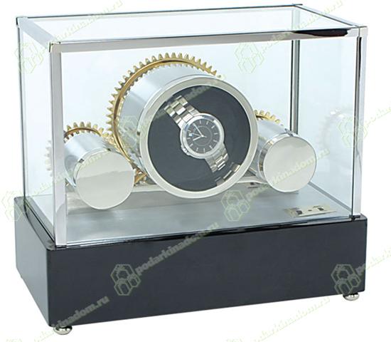 Rapport W199 Cogwheel это заводная шкатулка для часов фирмы Rapport. В которой соединились качество и оригинальный дизайн. Станет отличным подарком, к любому празднику