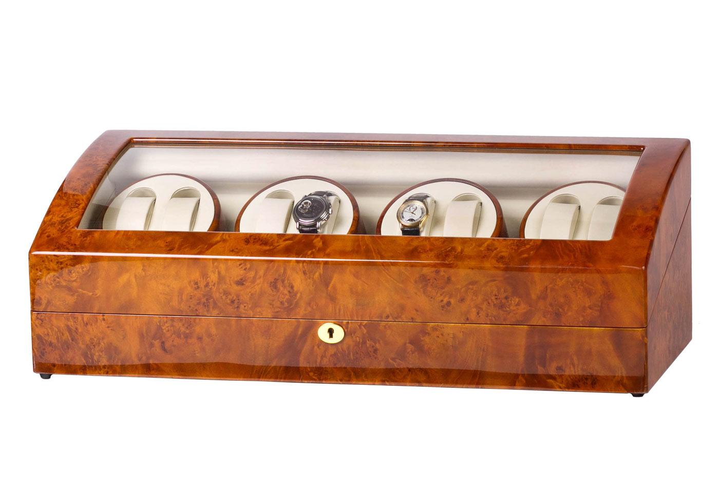 SmartWinder 023-YW Шкатулка для автоподзавода и хранения 8-ми механических часов.