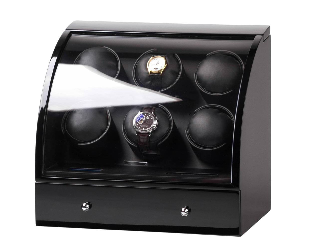 SmartWinder 90326-BB Шкатулка для 6-ти механических часов с автоподзаводом.