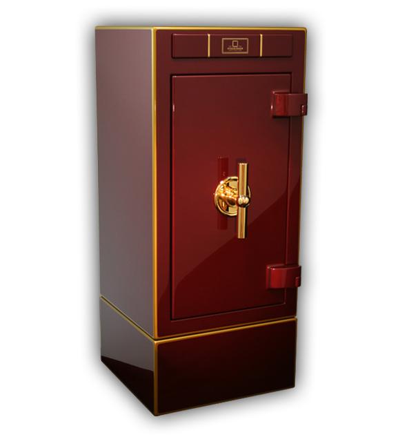 Stockinger Imperial Сейф с ящичками и для статического хранения драгоценностей из высококачественной стали с лаковым покрытием