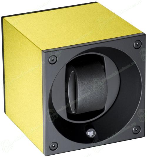 Swiss Kubik SK01.AE011 Шкатулка золотого цвета на одни часы с автоподзаводом, с функцией программирования работы от компьютера