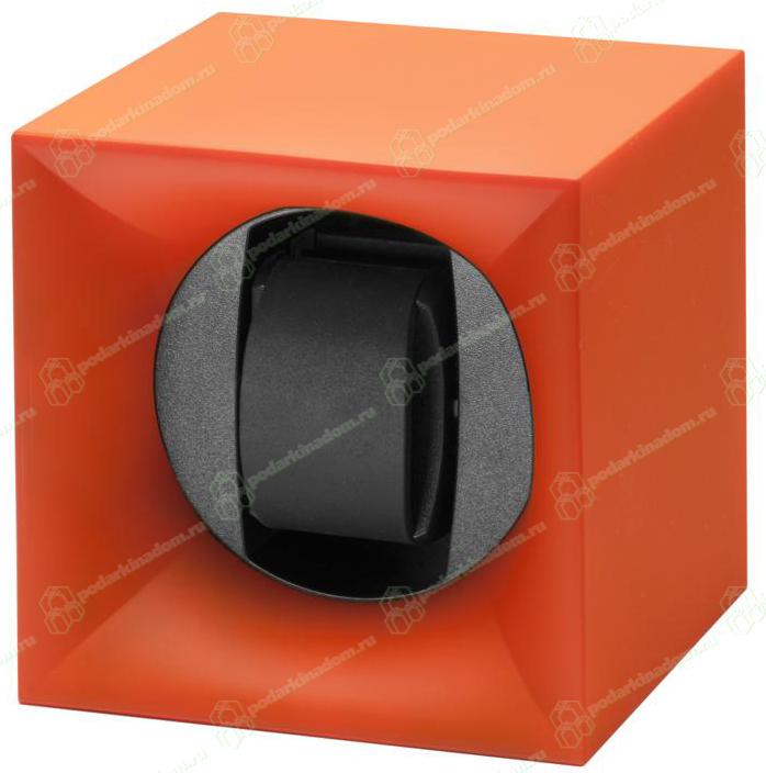 Swiss Kubik SK01.STB.010 Шкатулка Свисс Кубик ярко оранжевого цвета, выполнена из пластика и работающая от батарейках.