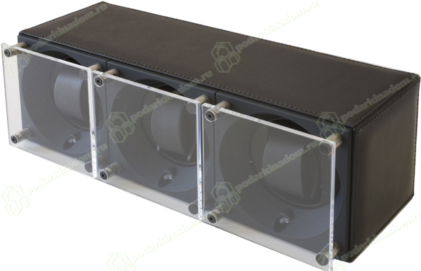 Swiss Kubik SK03.CV005-WP Шкатулка для 3 механических часов с автоподзаводом