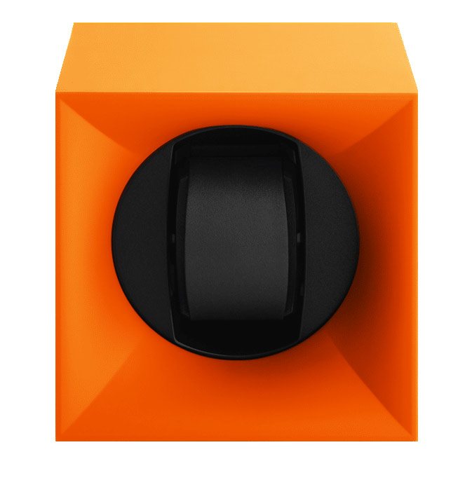 Swiss Kubik SK01.STB.010 Шкатулка Swiss Kubik для 1 часов автоподзаводом. Корпус из пластика оранжевого цвета