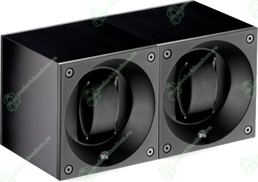 Swiss Kubik SK02.AE001 Шкатулка для наручных механических часов с автоподзаводом. Отделка алюминий. Питание от батареек. Различные программы завода.