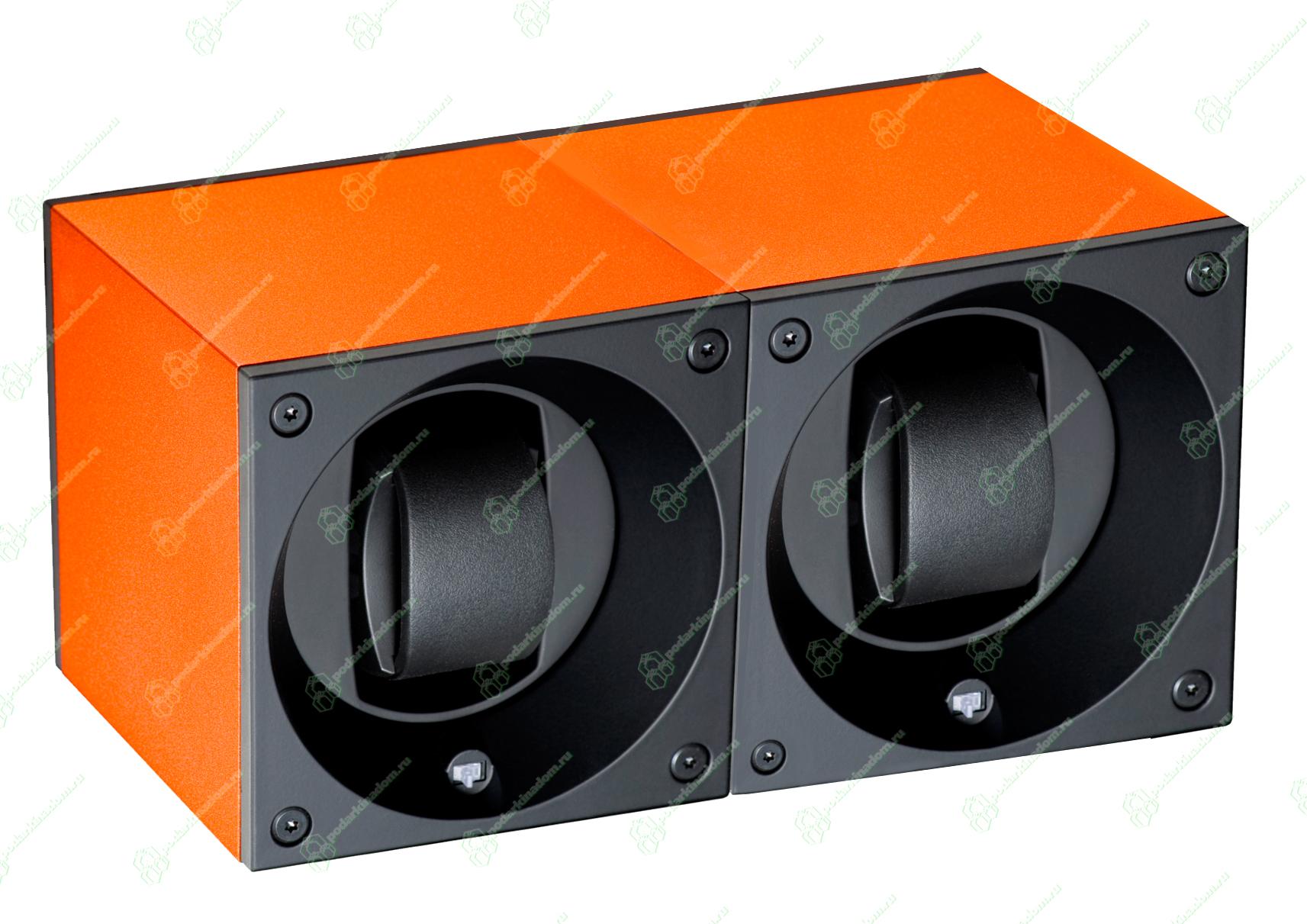 Swiss Kubik SK02.AE010 Шкатулка для наручных механических часов с автоподзаводом. Отделка алюминий. Питание от батареек. Различные программы завода.