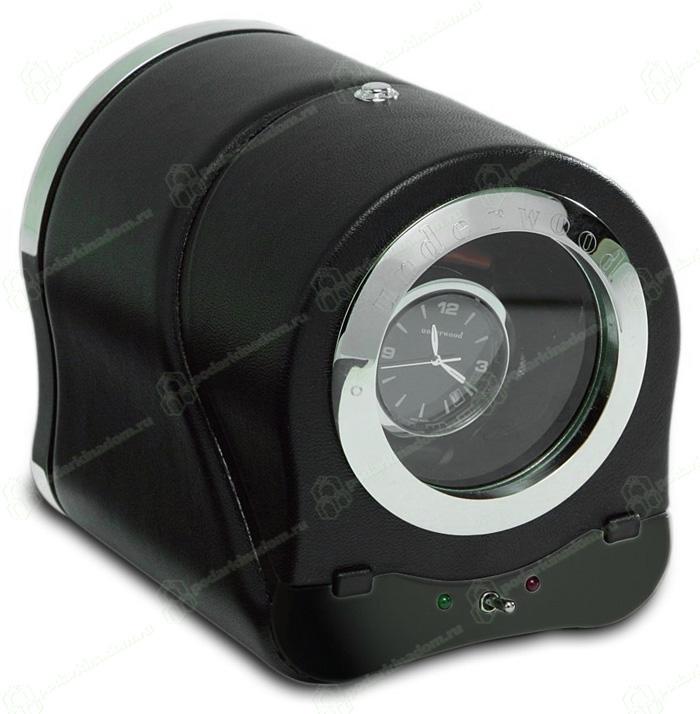 Underwood UN883 Модуль на одни часы, кожаный с металлическим окном.