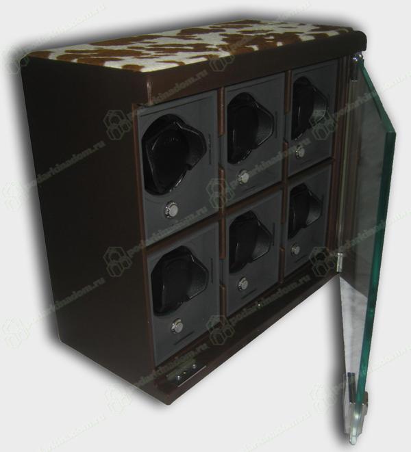 Underwood UN-814H-brown Модульная система для 6 часов с автоматическим заводом.