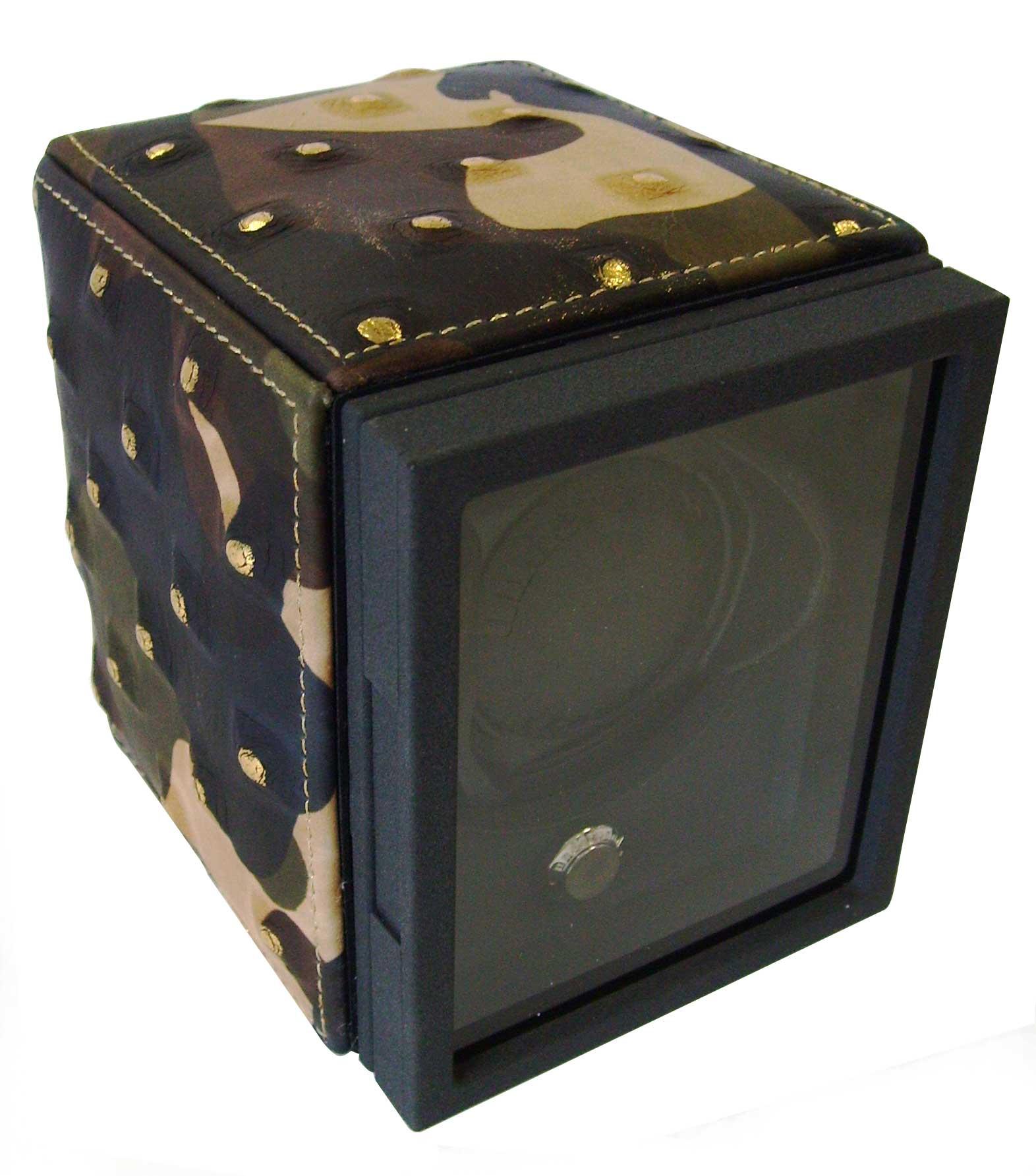 Underwood UN-805m Бокс для подзавода одних механических часов, камуфляжного цвета.
