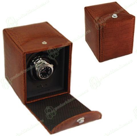 Underwood UN/810/C Brown Коричневый модуль на одни часы, тиснение крокодил