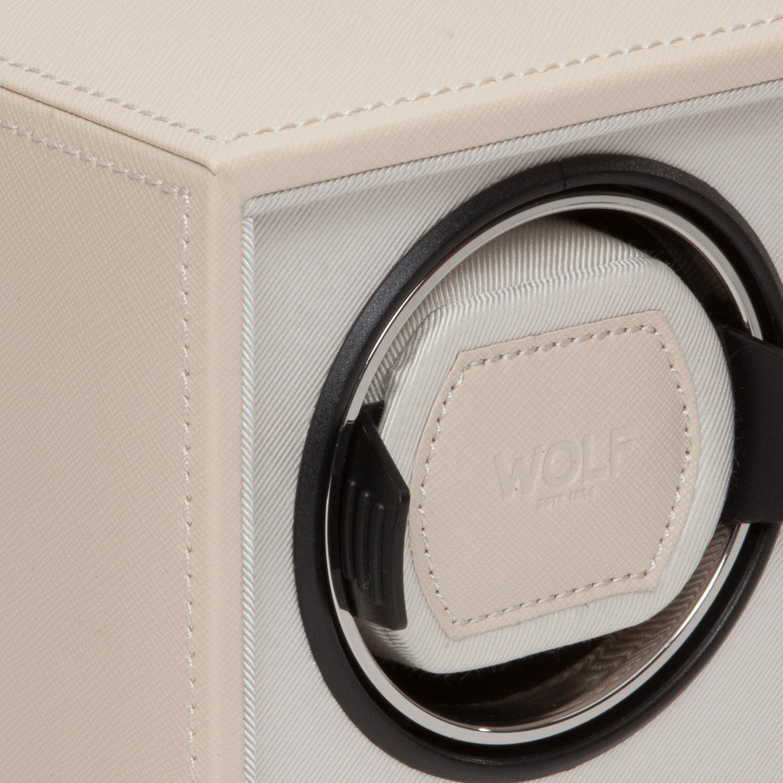 455253 Шкатулка для автоподзавода часов WOLF из коллекции Cube