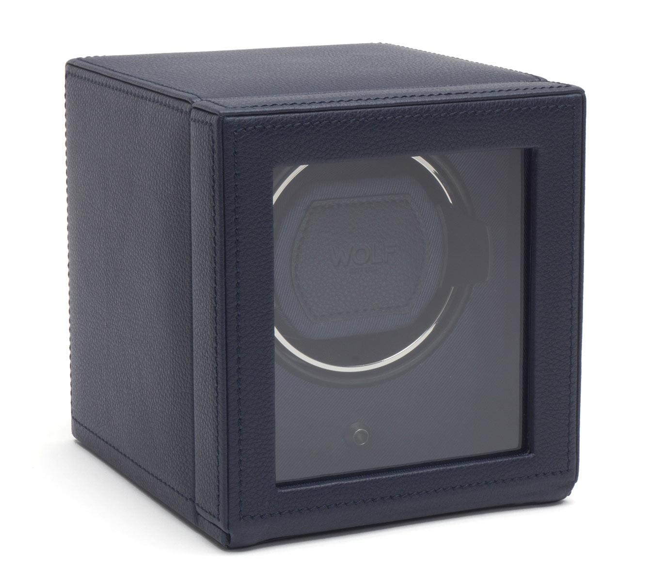 461117 Шкатулка для автоподзавода часов WOLF из коллекции Cube