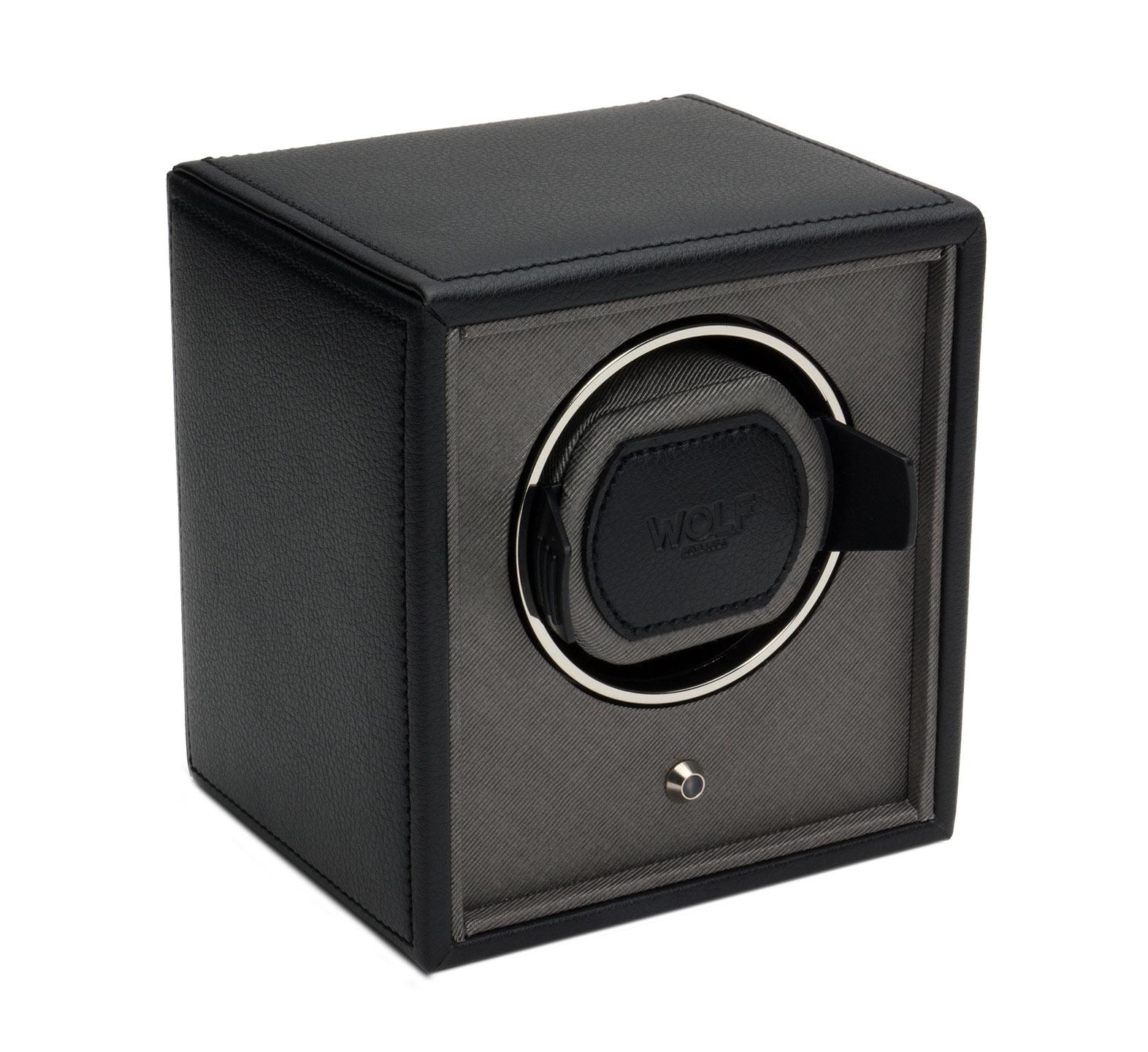 WOLF 455203 Шкатулка для автоподзавода часов WOLF из коллекции Cube