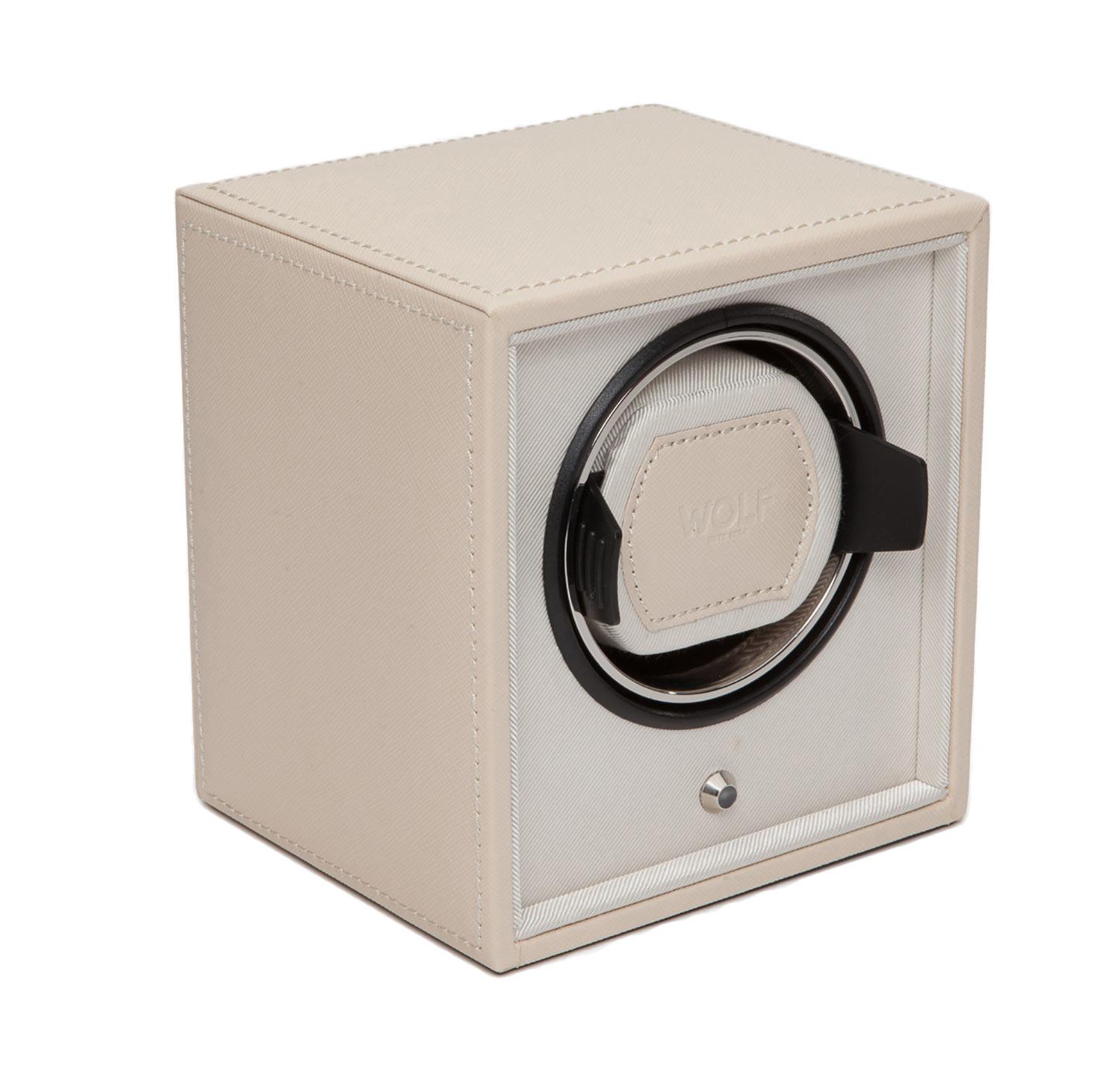 WOLF 455253 Шкатулка для автоподзавода часов WOLF из коллекции Cube